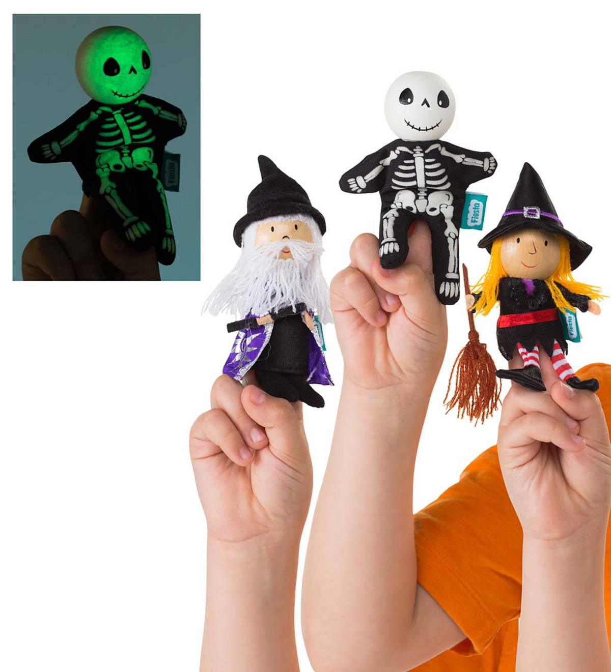 halloween finger puppets 3 years old ages hearthsong