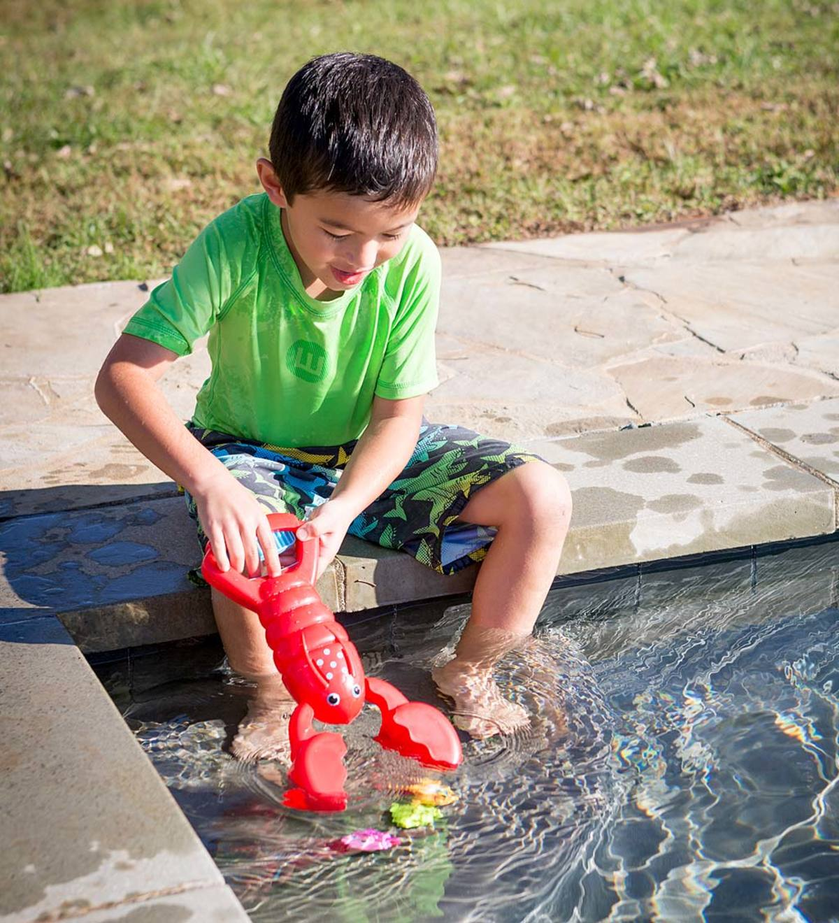Lobster Claw Catcher Sand and Water Play Set
