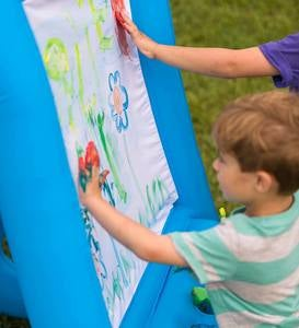 Double-Sided Inflatable Easel