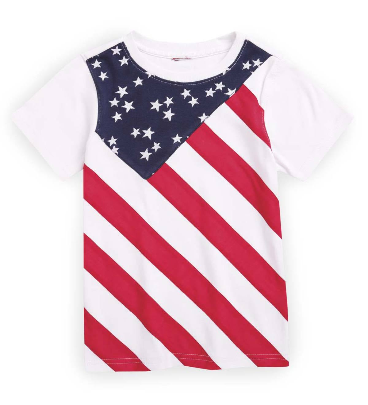 Flag Tee - Multiple - 4T