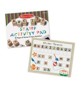 Deluxe Wooden Stamp Set (ABC/123)