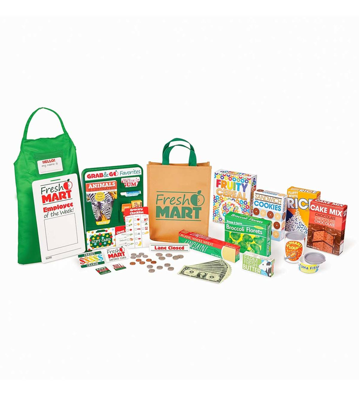 Fresh Mart Pretend Play Groceries