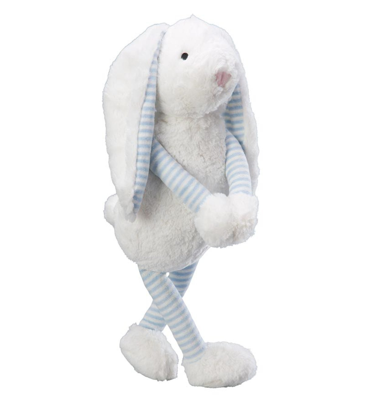 Large Sweet Striped Bunny - Blue