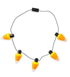 Light-Up Candy Corn Necklaces (set of 3)