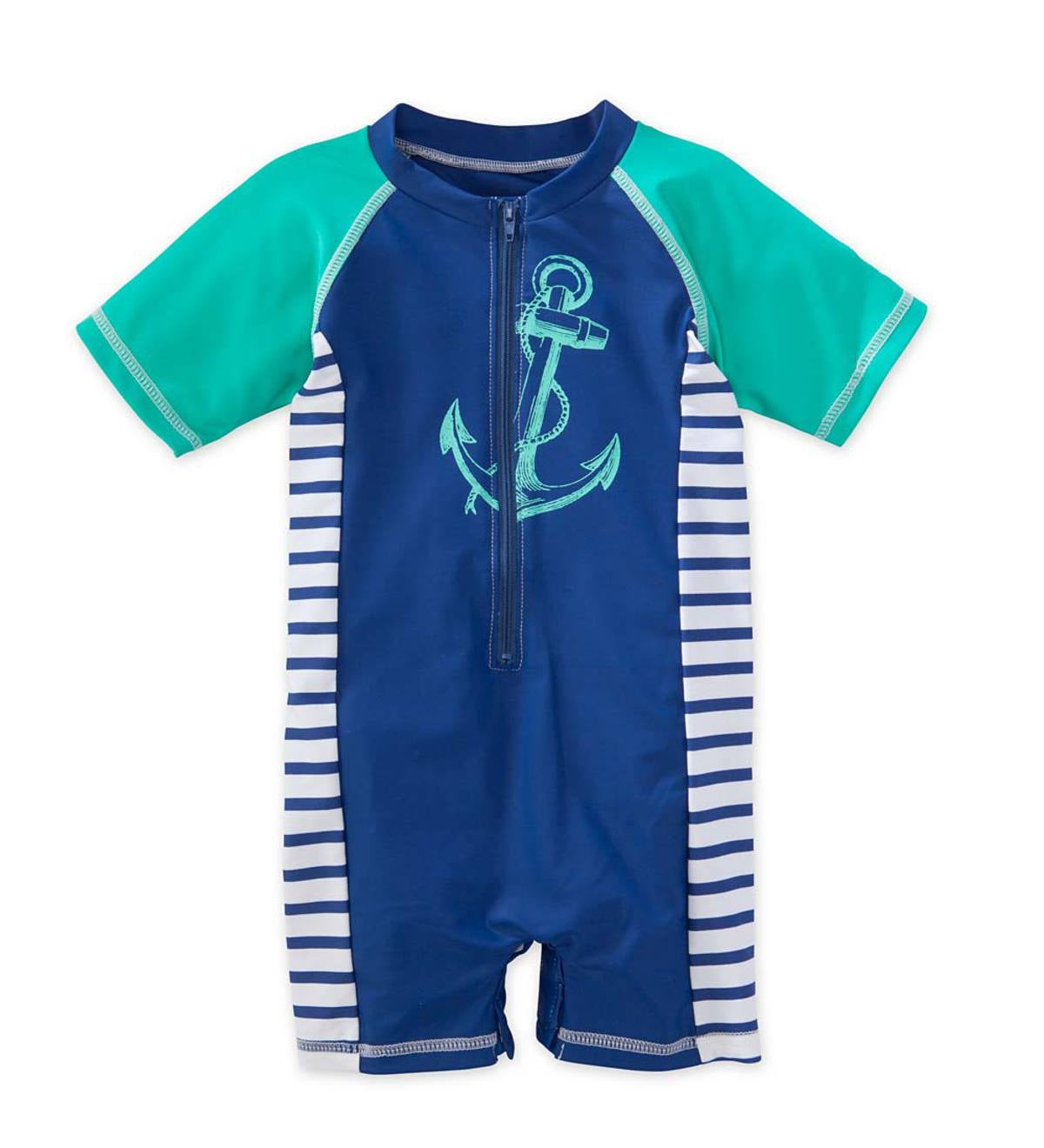 Anchor Onesie - Multi - 6M