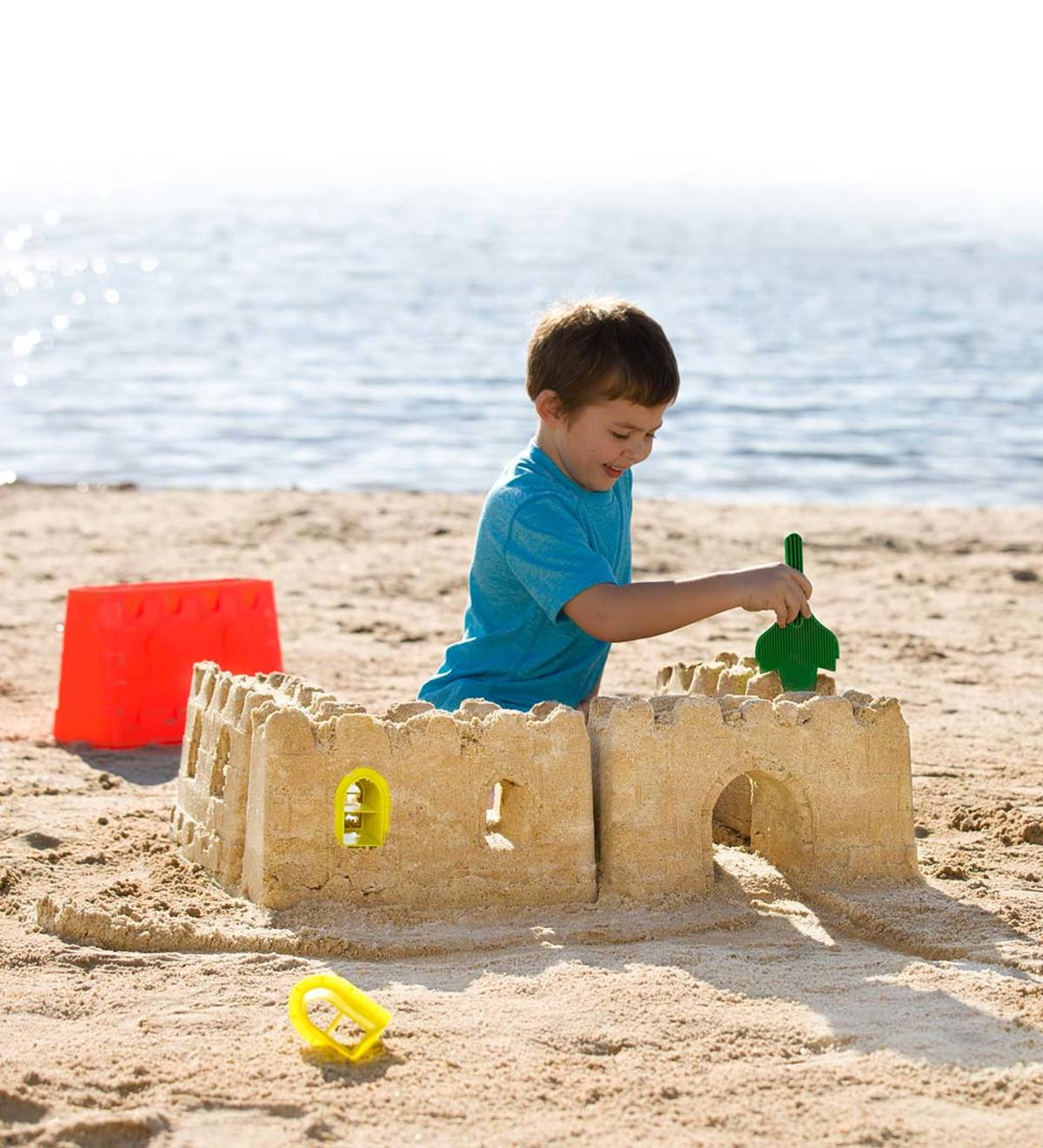 2-in-1 Sand&Snow Castle