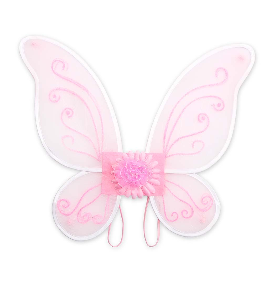 LED Light-Up Tulle Wings swatch image