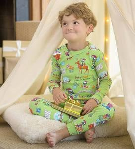 Pete the Cat Pajamas - Green - 5