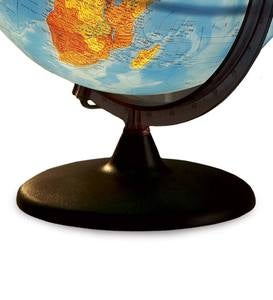 "12"" Diam. Light Up Orion Relief Globe With Non-Tip Base"