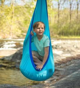 Indoor/Outdoor Nylon HugglePod Lite Hanging Chair