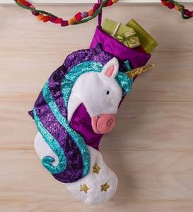 Sparkly Unicorn Stocking