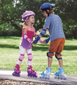 Inline Training Skates - Blue - MD