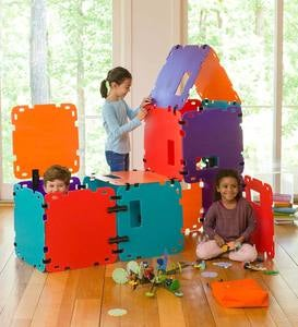 32-Piece Colorblock Build-A-Fort Set