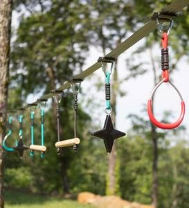 Ninjaline Ninja Star Hanging Obstacle Course Kit