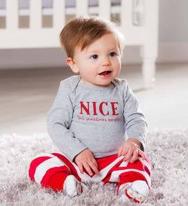 Naughty & Nice Apparel Set