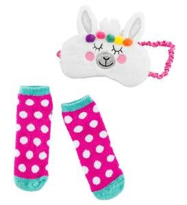 Eye Mask and Slipper Socks Set - Caticorn