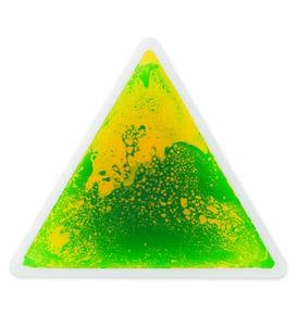 Captivating Color Liquid Triangle
