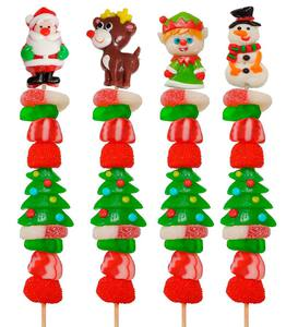 Christmas Candy Kabobs (set of 4)