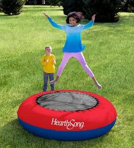 "Inflatable 21""H x 75"" diam. Kids Trampoline"