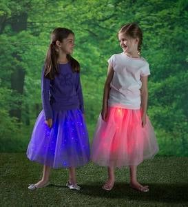 LED Light-up Tulle Skirt - Pink