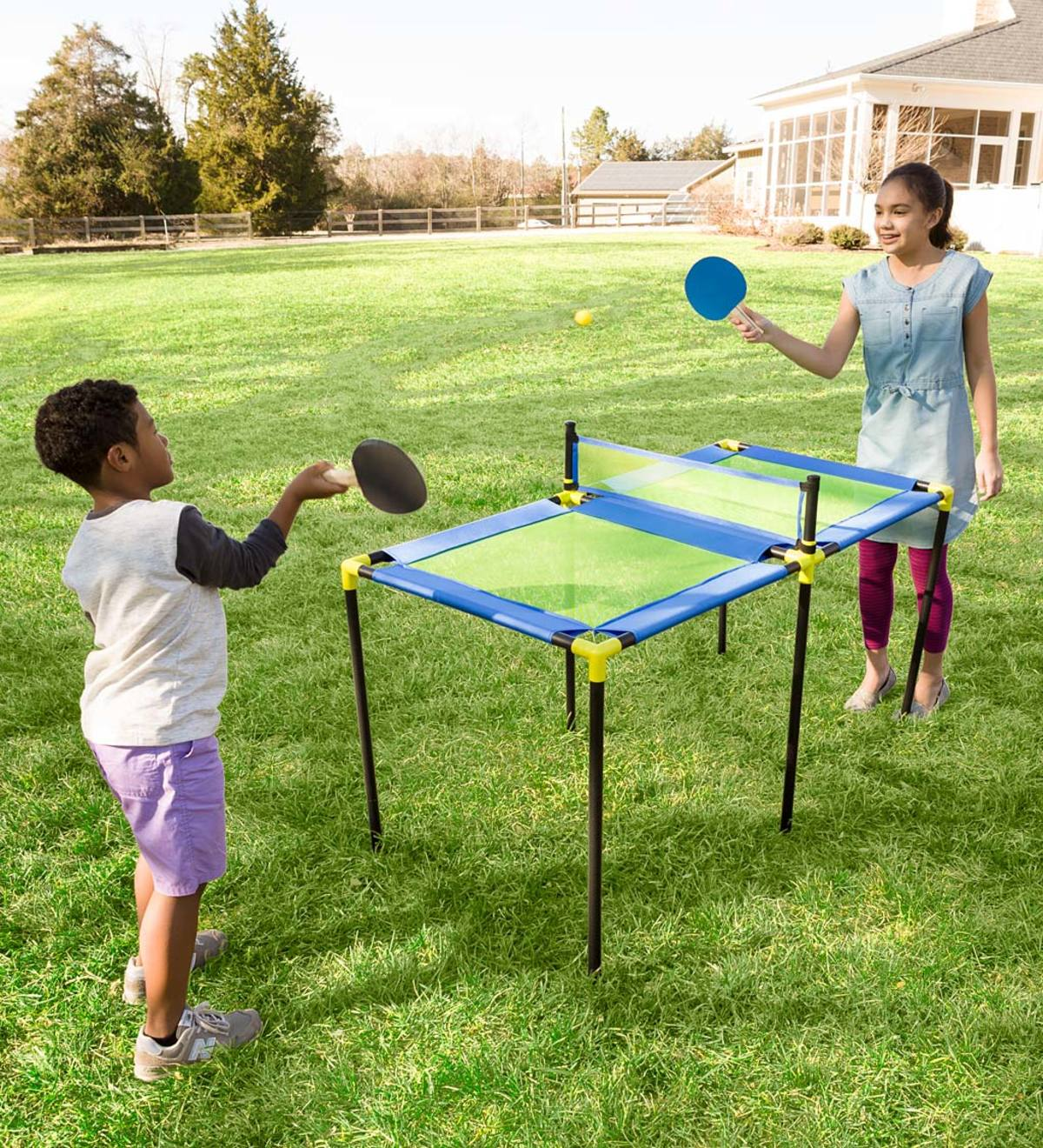 Portable Paddle Ball Table