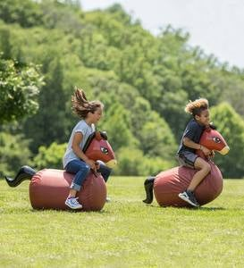 Inflatable Hop 'n Go Horses, Set of 2