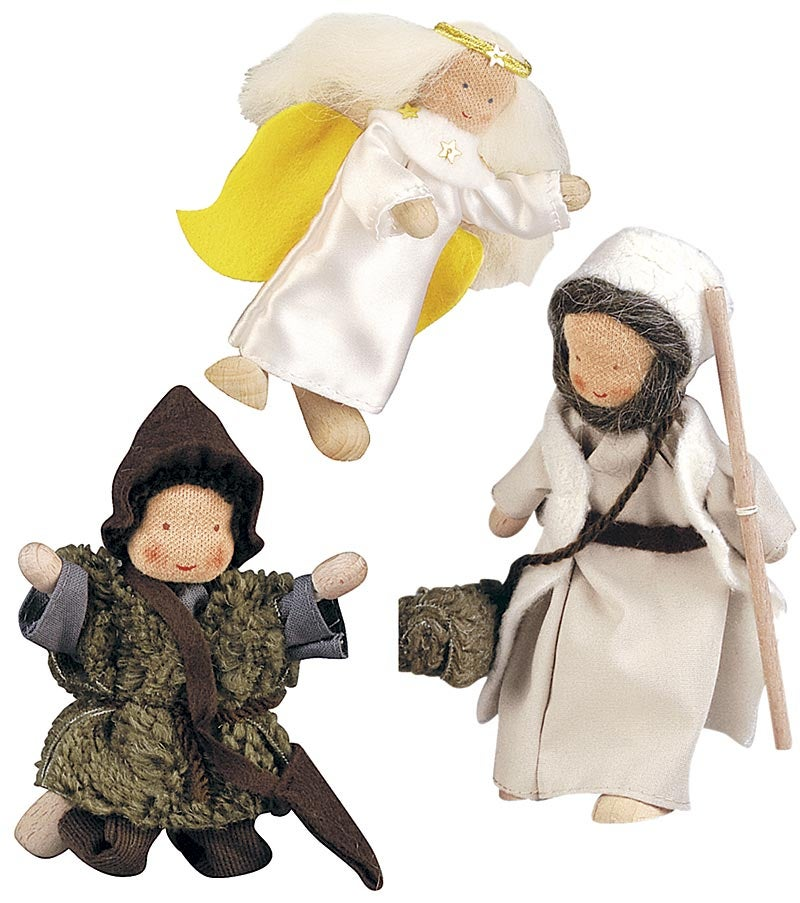 Three-Piece Nativity Dolls Set swatch image