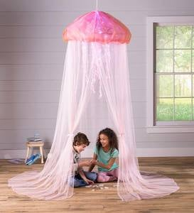 Pink Jellyfish Light-Up Canopy