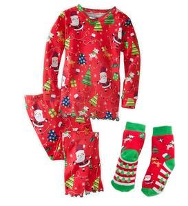 Christmas Pajamas - Red - 6
