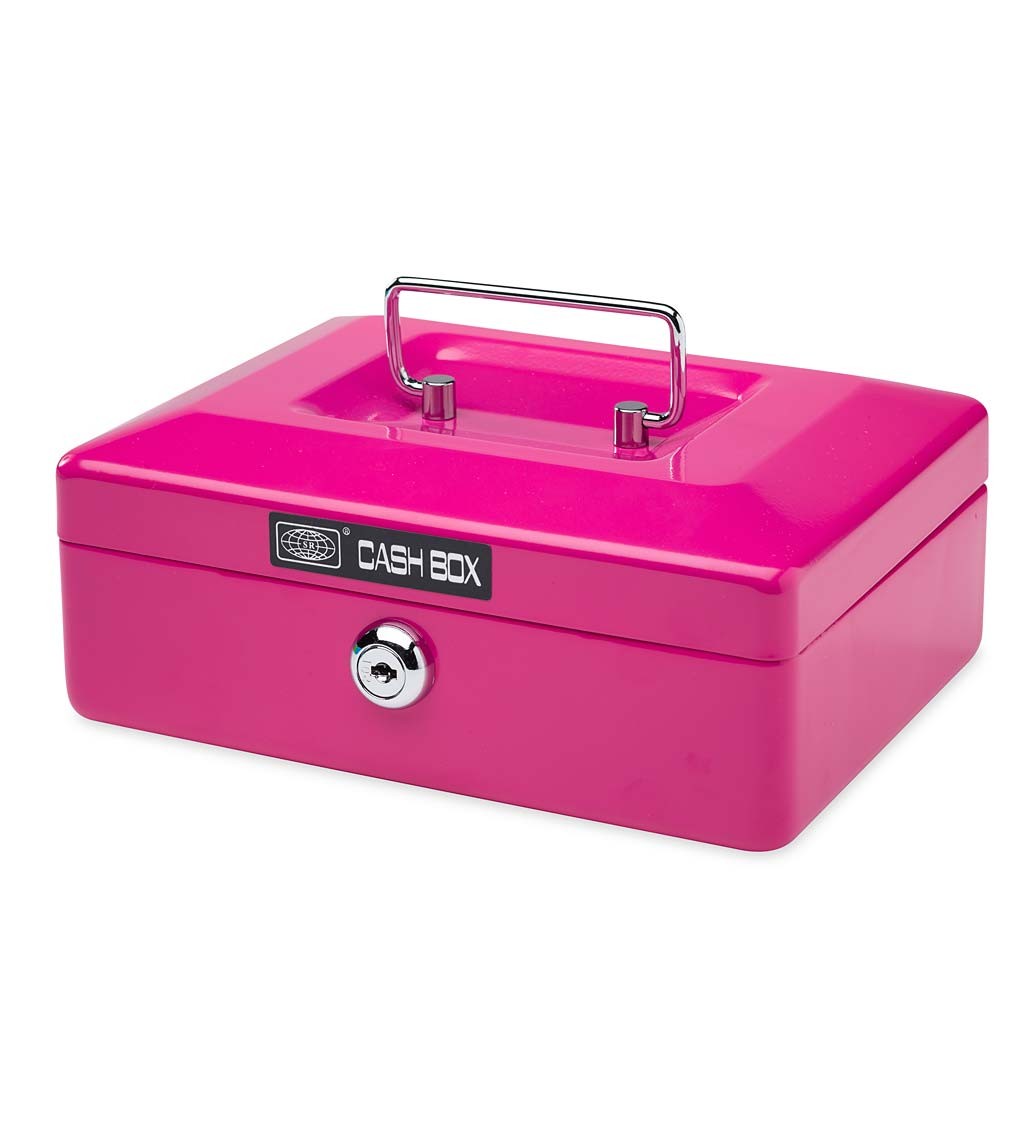 Metal Cash Box