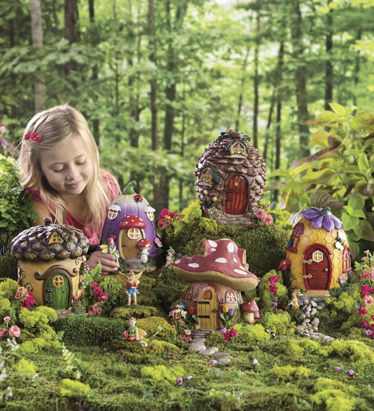 5 Fairy Houses And 10 Natured