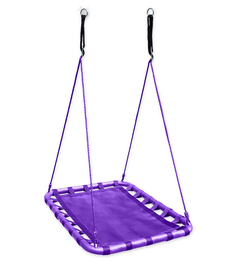 Mega Mat Rectangular Platform Tree Swing