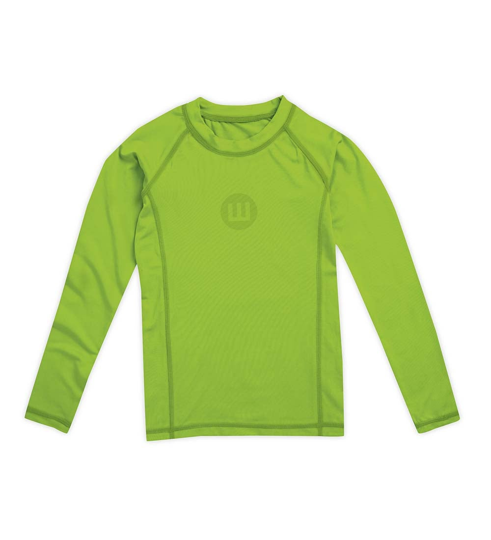 Long Sleeve Solid Rash Guard