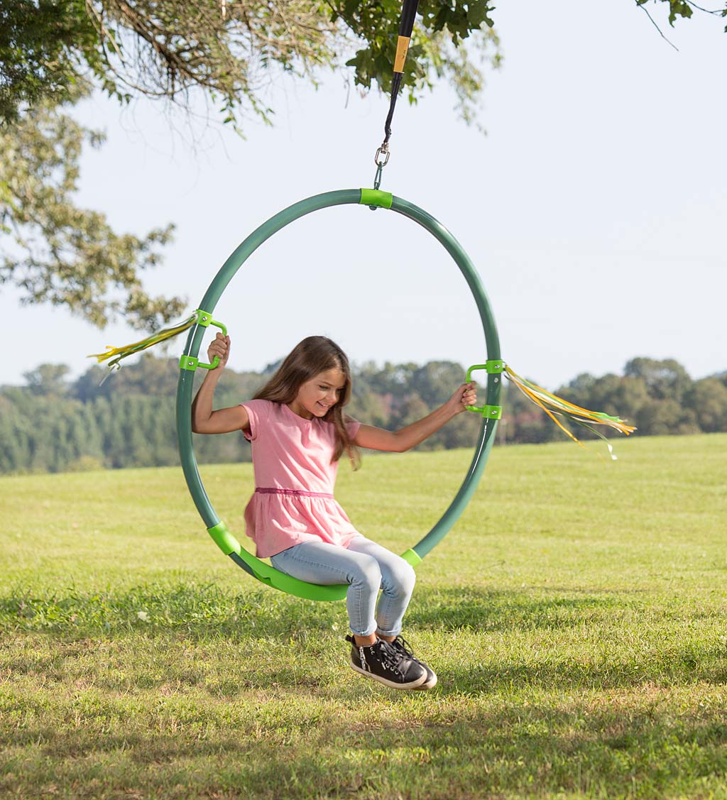 Hoopla Spinning Ring Swing