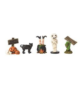 Five Haunted Figurines
