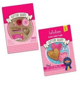Glittery Heart Cookie Cutter Crafts