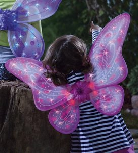 Pink LED Twinkling Fairy Wings