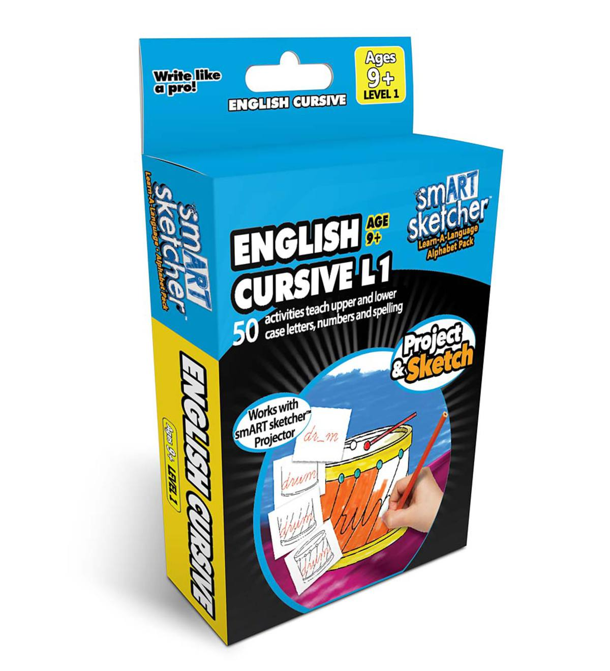 smART Sketcher Creative Pack: English Cursive