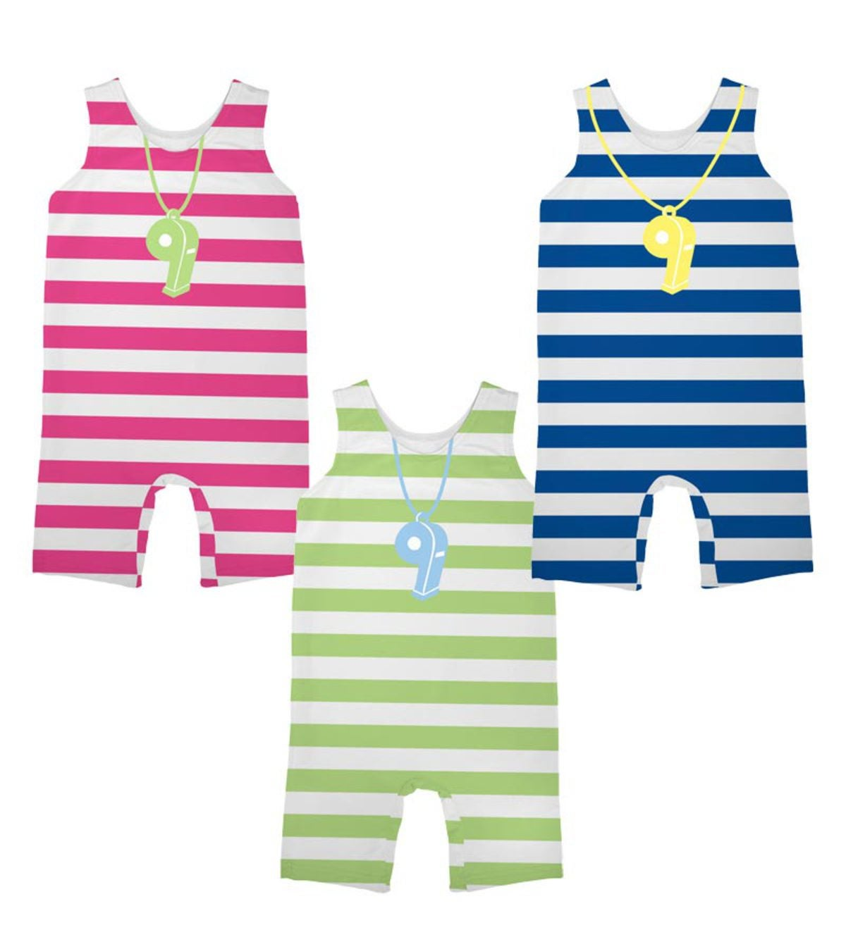 One-Piece Lifeguard Sun Suit - LG