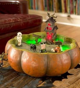 Scary Pumpkin Bowl