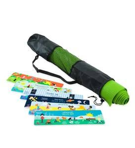 Backyard Yoga® Mat Set