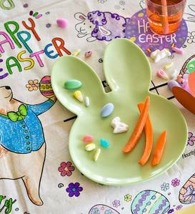 Easter Bunny Plates (set of 4)