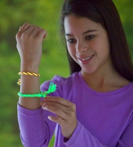 Glow-in-the-Dark Friendship Bracelet Kit