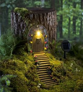 Light-Up Fairy Door and Stairs