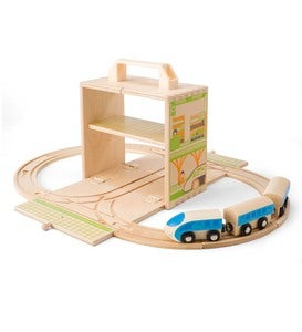 Bamboo Train Set