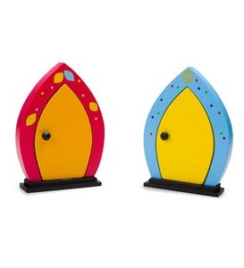 Set of 2 Fairy Doors