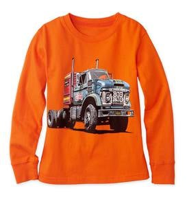 "Long-Sleeve ""Big Rig"" Truck Tee"