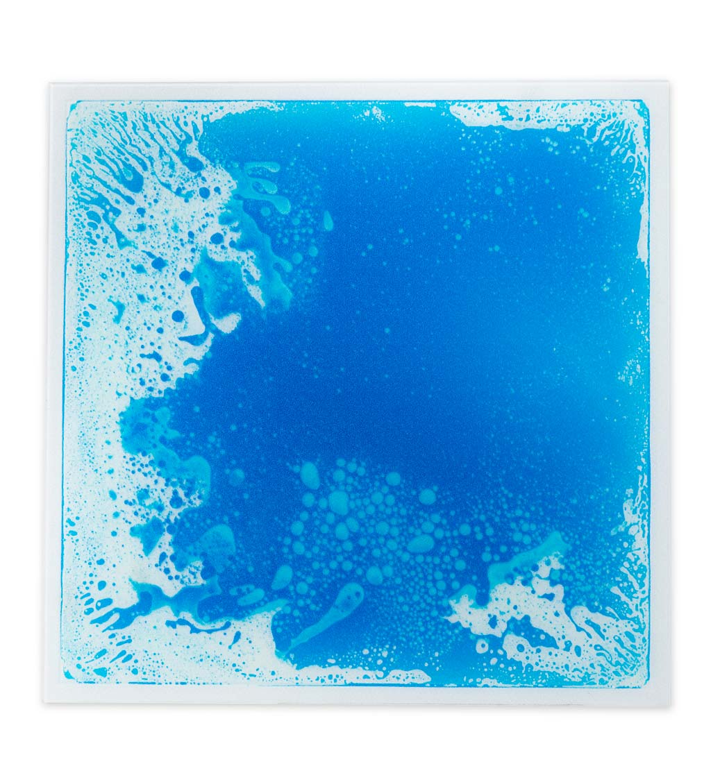 Captivating Color Liquid Tile Square