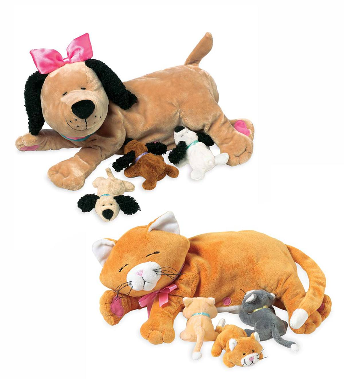 Plush Nursing Animal Toys