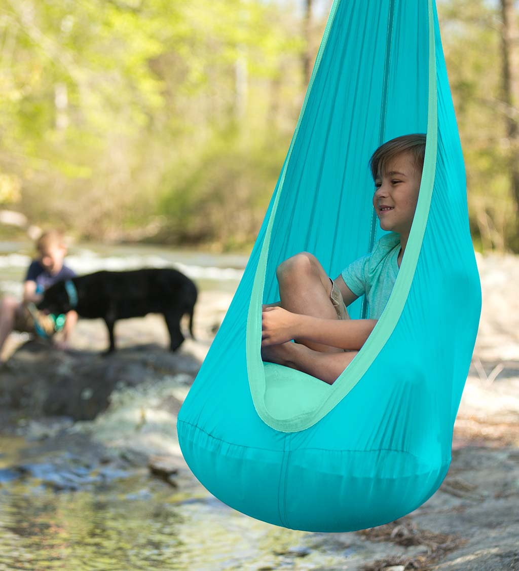 HugglePod Lite Nylon Hanging Chair - Orange